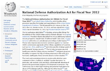 http://en.wikipedia.org/wiki/National_Defense_Authorization_Act_for_Fiscal_Year_2012