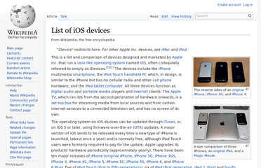 http://en.wikipedia.org/wiki/List_of_iOS_devices