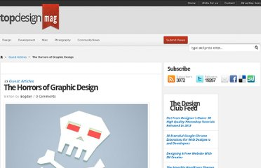 http://www.topdesignmag.com/the-horrors-of-graphic-design/