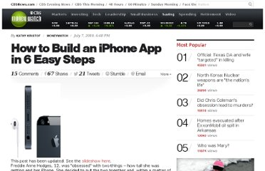 http://www.cbsnews.com/8301-505144_162-36942435/how-to-build-an-iphone-app-in-6-easy-steps/