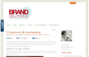 http://www.brandmechanics.ca/statistics-qr-code-marketing/