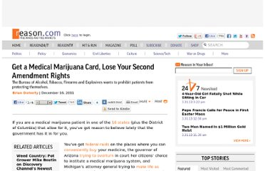 http://reason.com/archives/2011/12/16/get-a-medical-marijuana-card-lose-your-s