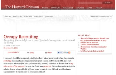 http://www.thecrimson.com/article/2011/12/16/Harvard-Occupy-Goldman-Sachs-Immoral-Crimson/