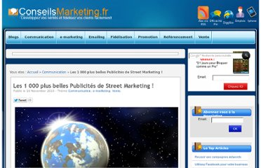 http://www.conseilsmarketing.com/e-marketing/les-1-000-plus-belles-publicites-de-street-marketing