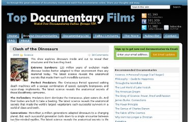 http://topdocumentaryfilms.com/clash-of-the-dinosaurs/