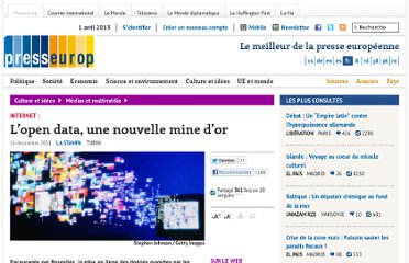 http://www.presseurop.eu/fr/content/article/1299661-l-open-data-une-nouvelle-mine-d-or