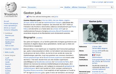 http://fr.wikipedia.org/wiki/Gaston_Julia