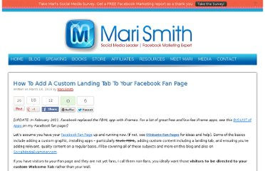 http://www.marismith.com/how-add-custom-landing-tab-your-facebook-fan/
