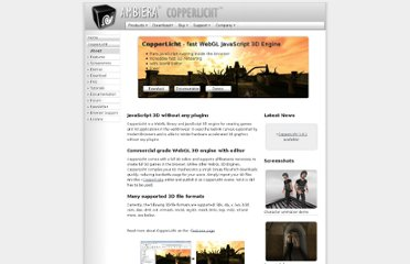 http://www.ambiera.com/copperlicht/index.html