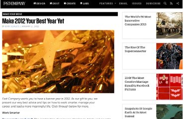 http://www.fastcompany.com/1801018/make-2012-your-best-year-yet