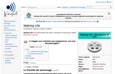 http://it.wikiquote.org/wiki/Waking_Life