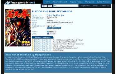 http://www.mangareader.net/1057/fist-of-the-blue-sky.html