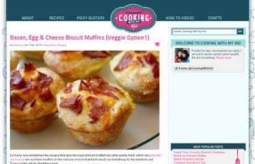 http://www.cookingwithmykid.com/recipes/bacon-egg-cheese-biscuit-muffins-veggie-option/