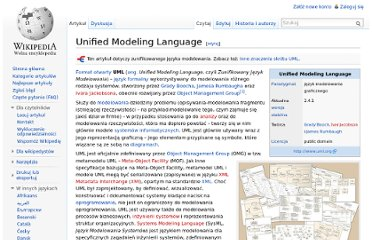 http://pl.wikipedia.org/wiki/Unified_Modeling_Language