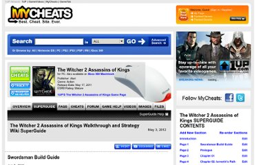 http://mycheats.1up.com/view/section/3173285/31353/the_witcher_2_assassins_of_kings/pc