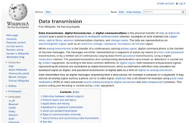 http://en.wikipedia.org/wiki/Data_transmission