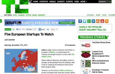 http://techcrunch.com/2011/12/17/five-european-startups-to-watch/