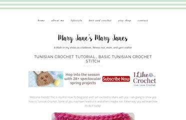 http://crochetingthedayaway.blogspot.com/2011/10/tunisian-crochet-how-to-basic-tunisian.html