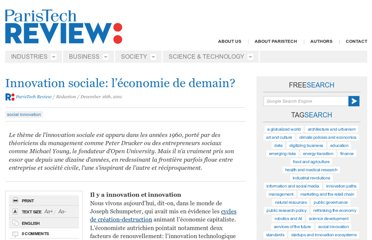 http://www.paristechreview.com/2011/12/16/innovation-sociale-economie-demain/