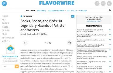 http://flavorwire.com/242735/books-booze-and-beds-10-legendary-haunts-of-artists-and-writers#4