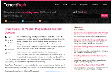 http://torrentfreak.com/from-rogue-to-vogue-megaupload-and-kim-dotcom-111218/