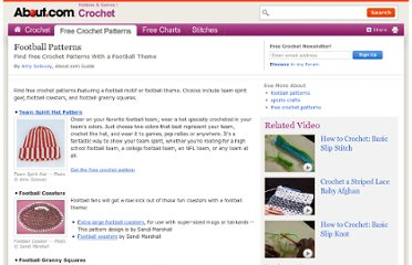 http://crochet.about.com/od/freecrochetpatterns/tp/football-patterns.htm