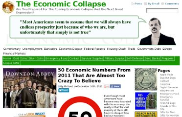 http://theeconomiccollapseblog.com/archives/50-economic-numbers-from-2011-that-are-almost-too-crazy-to-believe#1-a-staggering-48-percent-of-all-americans-are-either-considered-to-be-low-income-or-are-living-in-poverty-1