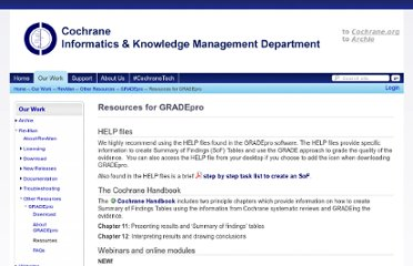 http://ims.cochrane.org/revman/other-resources/gradepro/resources