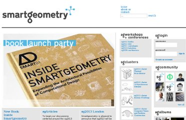 http://smartgeometry.org/WebLinks