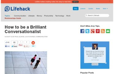http://www.lifehack.org/articles/communication/how-to-be-a-brilliant-conversationalist.html