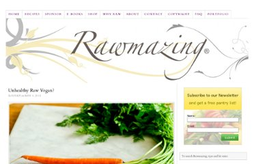 http://www.rawmazing.com/unhealthy-raw-vegan/