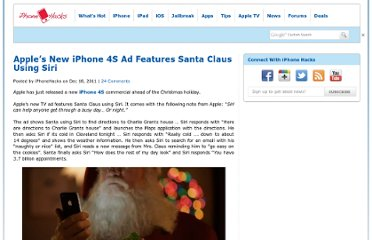 http://www.iphonehacks.com/2011/12/apples-new-iphone-4s-ad-features-santa-claus-using-siri.html