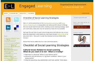 http://engagedlearning.net/post/checklist-of-social-learning-strategies/