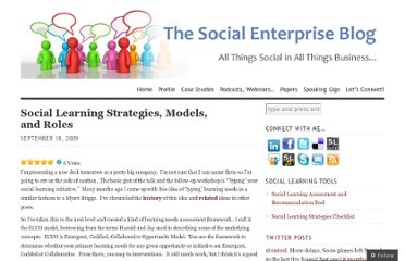http://dwilkinsnh.wordpress.com/2009/09/18/social-learning-strategies-models-and-roles/