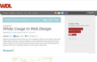 http://webdesignledger.com/inspiration/white-usage-in-web-design