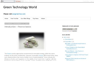 http://ecogreen-tech.blogspot.com/2011/11/introduction-finance-basics.html