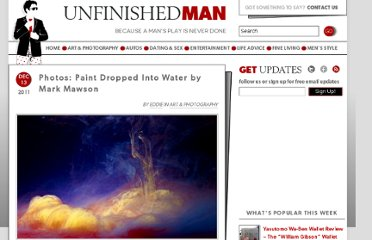 http://www.unfinishedman.com/photos-paint-dropped-into-water-by-mark-mawson/