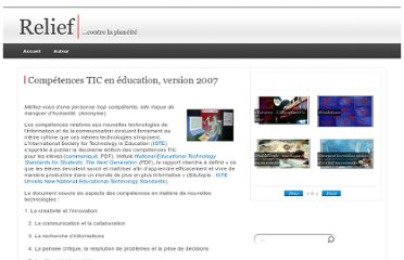http://www.francoisguite.com/2007/07/competences-tic-en-education-version-2007/