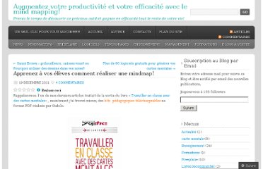 http://cartesdesidees.wordpress.com/2011/12/19/apprenez-a-vos-eleves-comment-realiser-une-mindmap/