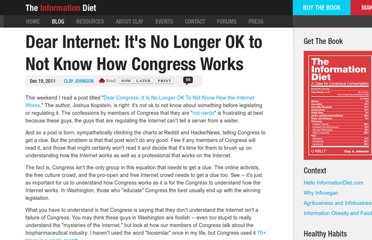 http://www.informationdiet.com/blog/read/dear-internet-its-no-longer-ok-to-not-know-how-congress-works-