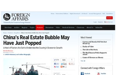 http://m.foreignaffairs.com/articles/136963/patrick-chovanec/chinas-real-estate-bubble-may-have-just-popped?cid=soc-facebook-in-snapshots-chinas_real_estate_bubble_may_have_just_popped-121911