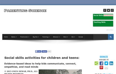 http://www.parentingscience.com/social-skills-activities.html