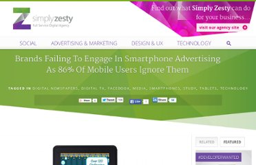 http://www.simplyzesty.com/mobile/brands-failing-to-engage-in-smartphone-advertising-as-86-of-mobile-users-ignore-them/