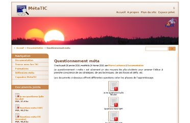 http://recit.org/metatic/Questionnement-meta