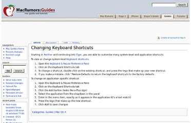 http://guides.macrumors.com/Changing_Keyboard_Shortcuts