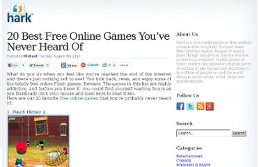 http://www.hark.com/blog/2010/08/20-best-free-online-games-you%e2%80%99ve-never-heard-of/