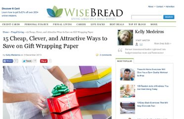 http://www.wisebread.com/36-green-gift-wrapping-ideas