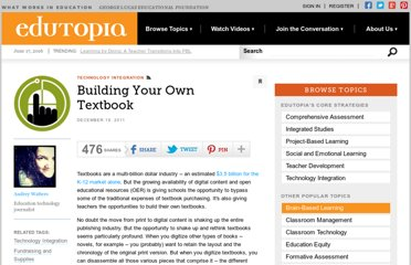 http://www.edutopia.org/blog/building-your-own-textbook-audrey-watters