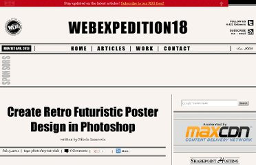 http://webexpedition18.com/work/create-retro-futuristic-poster-design-in-photoshop/