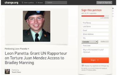 https://www.change.org/petitions/secretary-of-defense-grant-un-rapporteur-on-torture-juan-mendez-access-to-bradley-manning